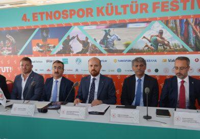 Geleneksel Spor ve Kültürler Etnospor Festivali'nde Buluşacak