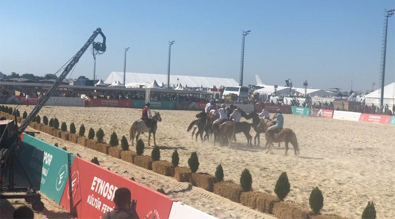 Geleneksel Sporlar 4'üncü Etnospor Kültür Festivali'nde
